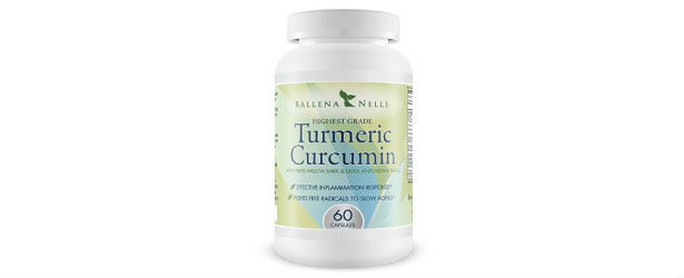 Ballena Nelle Turmeric Curcumin Review615